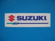 SUZUKI sticker/decal x2